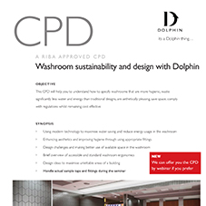 Accessible Washrooms & Sustainability