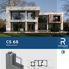 CS 68 versatile aluminium window