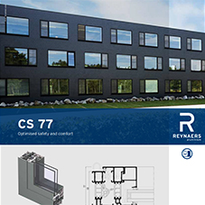 CS 77 aluminium windows and doors