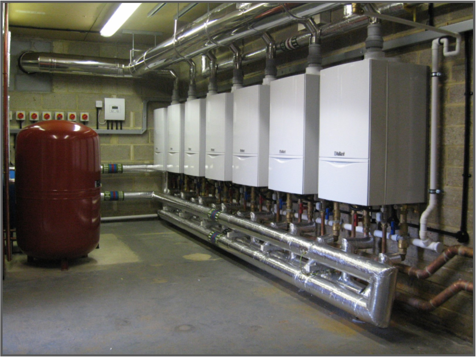 Seven Vaillant boilers bring Castleman Court to modern standards