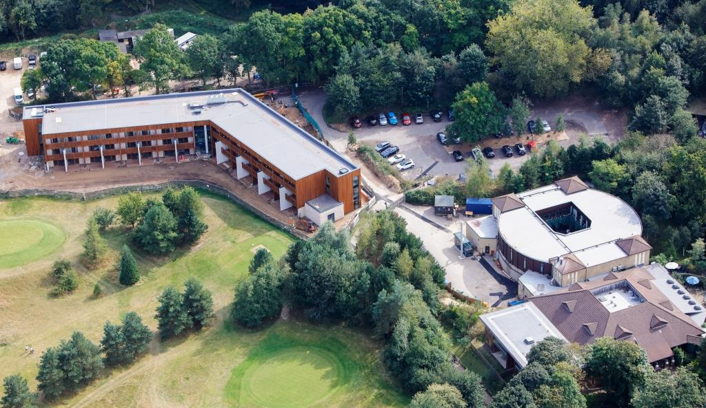 Single ply membrane system for Centre Parcs