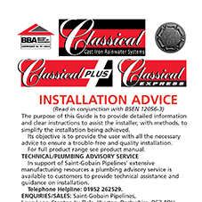 Rainwater & Gutter Classical Installation Guide