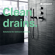 Clean Drains - solutions for wetrooms