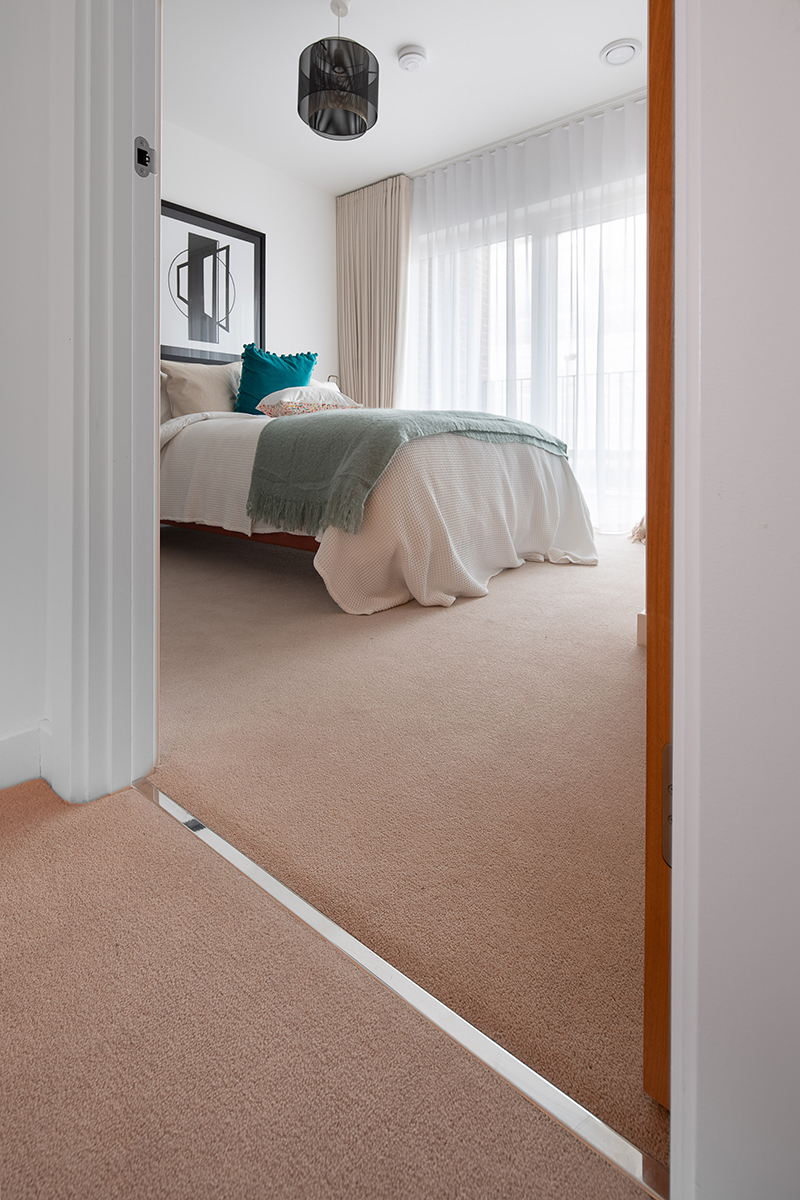 Gradus flooring accessories supplied for luxury Colindale Gardens