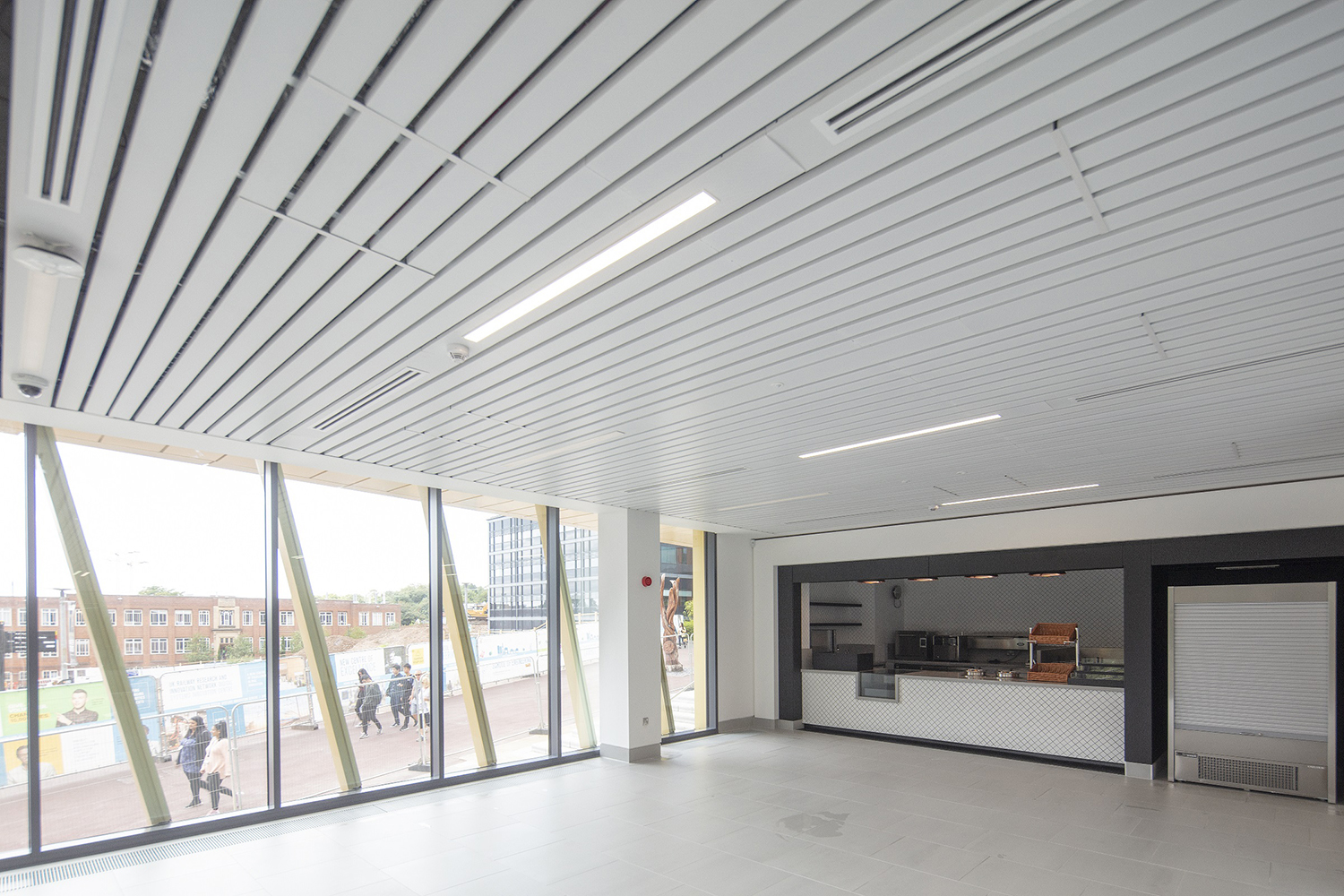 Aluminium Floor Access Covers were supplied for Collaborative Teaching Lab