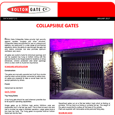 Collapsible Gate