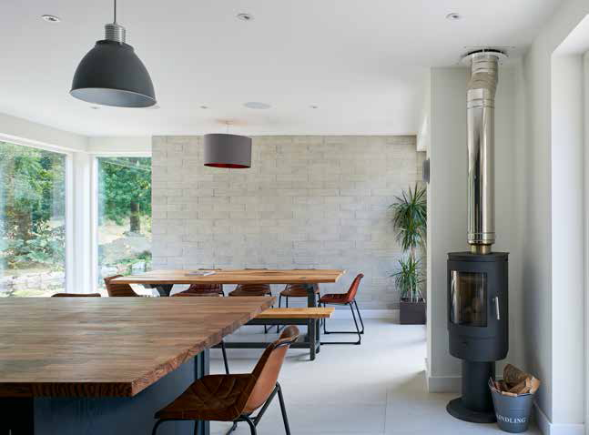 Stunning mill house extension in Cornwall protected by Newton