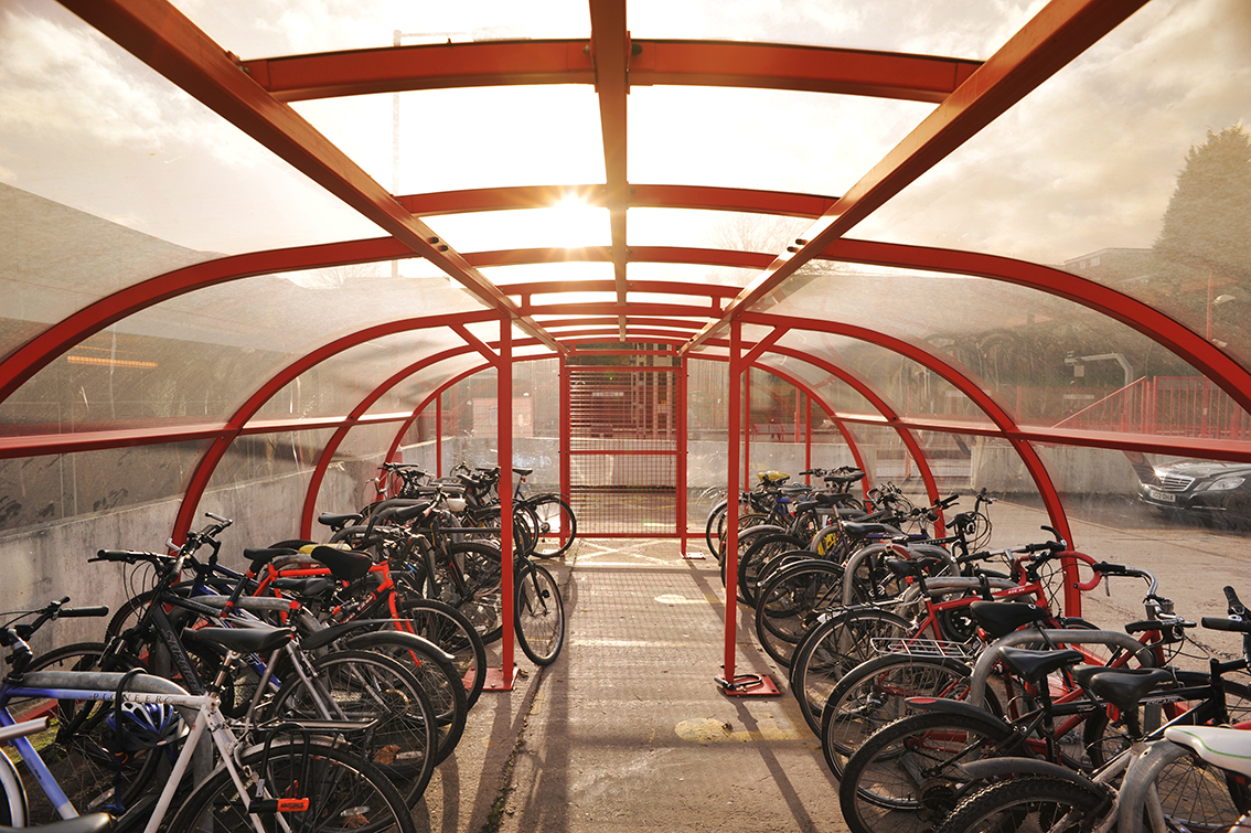Cycle parking at Coventry