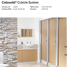 Cotswold® Cubicle System