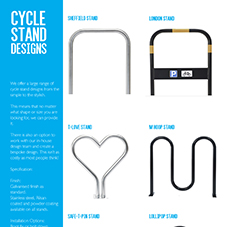 Cycle Stand Designs