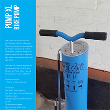 Cyclepods Bike Pump XL