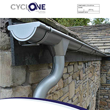 Rainwater & Gutter systems Cyclone Brochure