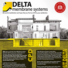Delta Membrane Systems CPD flyer