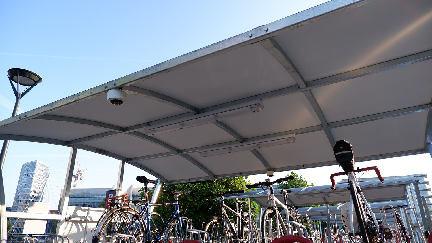 New Cyclepods cycle storage facilities for Bristol Temple Meads station