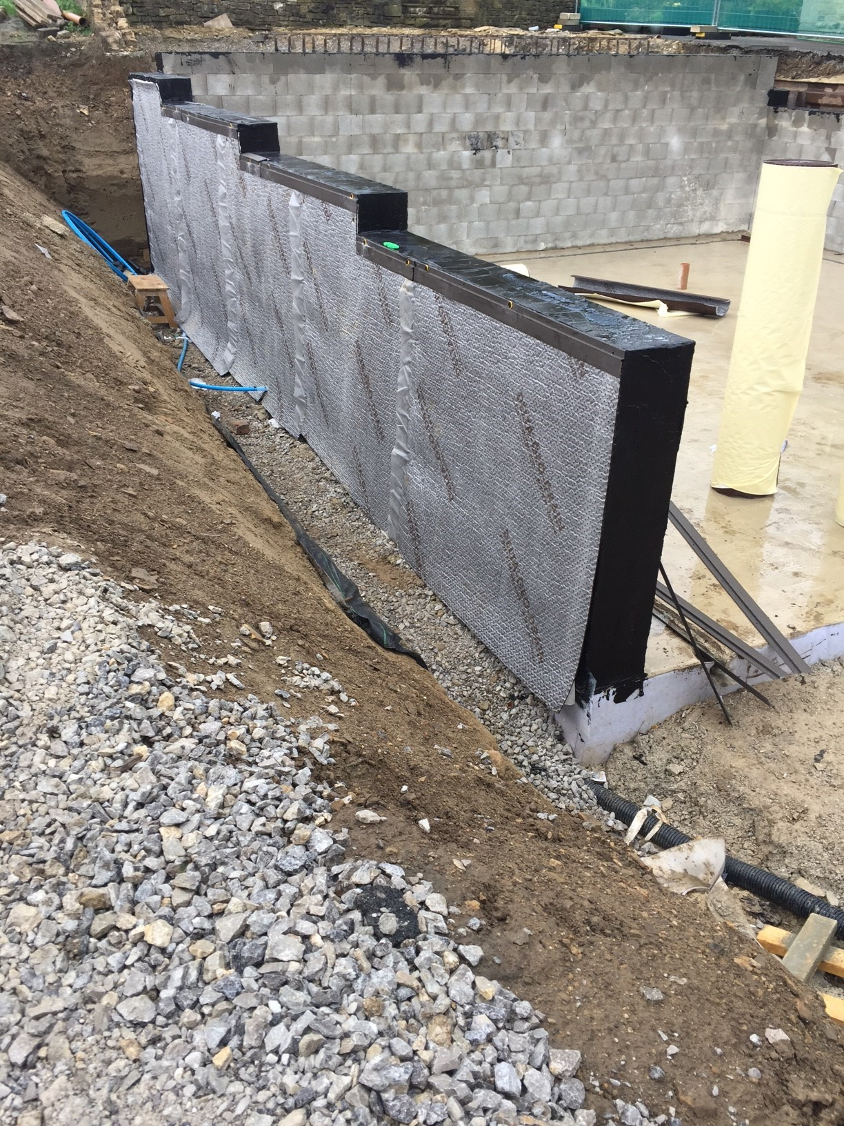 Delta GeoDrain Quattro External Drainage and Protection Membrane