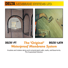 Delta PT-Lath Meshed Damp Proof Membrane Brochure