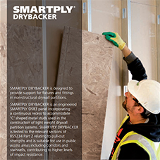 SMARTPLY DRYBACKER