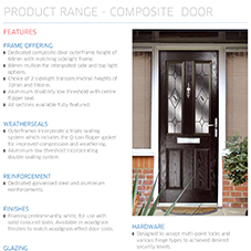Composite Door Specification Guide