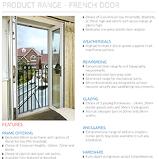 French Door Specification Guide