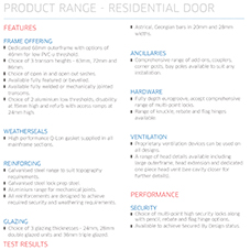 Residential Door Specification Guide