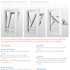 Reversible Window Specification Guide