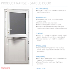 Stable Door Specification Guide