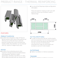 Thermal Reinforcing Specification Guide