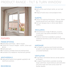 Tilt & Turn Window Specification Guide