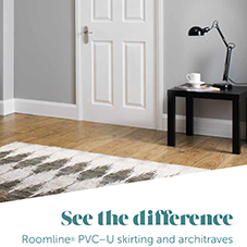 Roomline PVC-U skirting and architraves