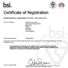 BSI Environmental Management System - ISO 14001:2015 Certification