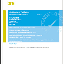 ENP429 Issue: 4 Certificate