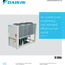 ERAD-E-SL: Air cooled screw condensing unit