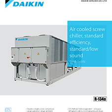 EWAD-C-SS/SL: Air cooled screw chiller