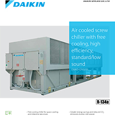 EWAD-CFXS/XL: Air cooled screw chiller