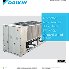 EWAD-CZXR: Air cooled screw inverter chiller