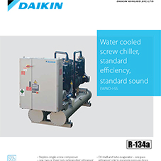 EWWD-I-SS: Water cooled screw chiller