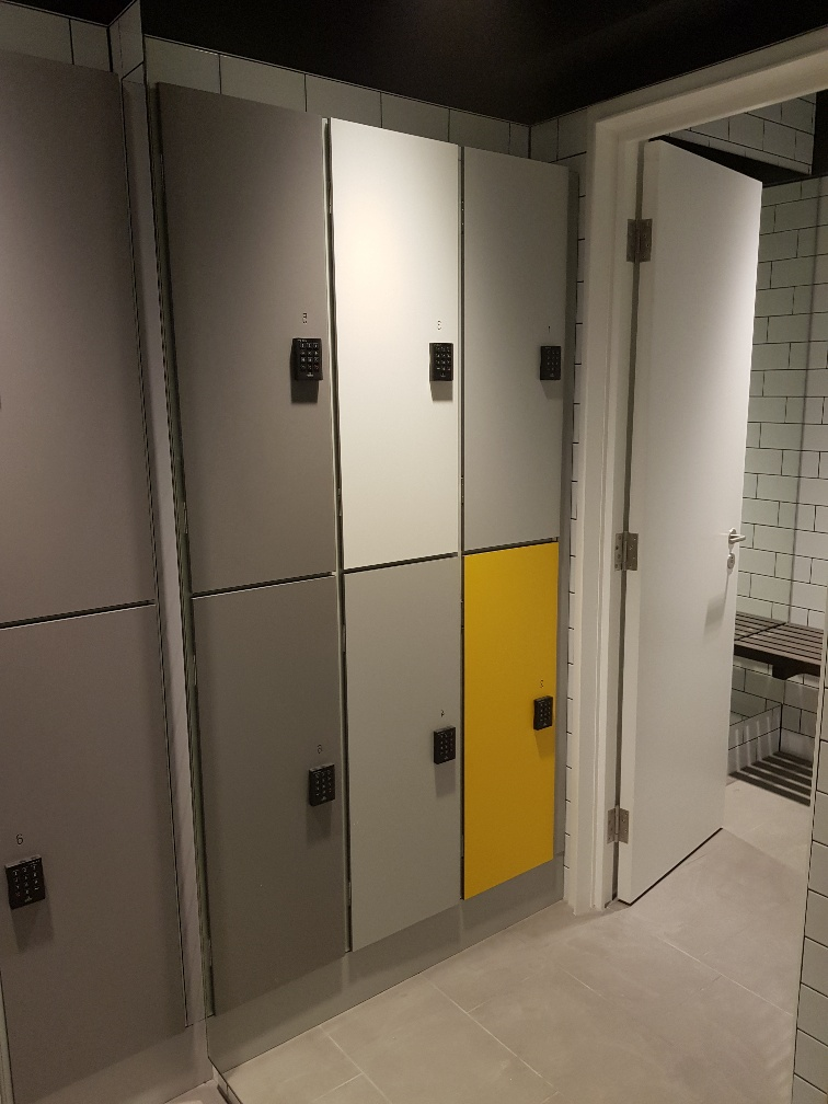 Made-to-measure lockers for Elsley House in central London
