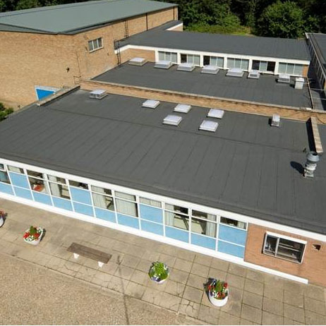 Euroroof Mastergold Scores Well On College Roof