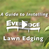 How to install EverEdge lawn & landscape edging