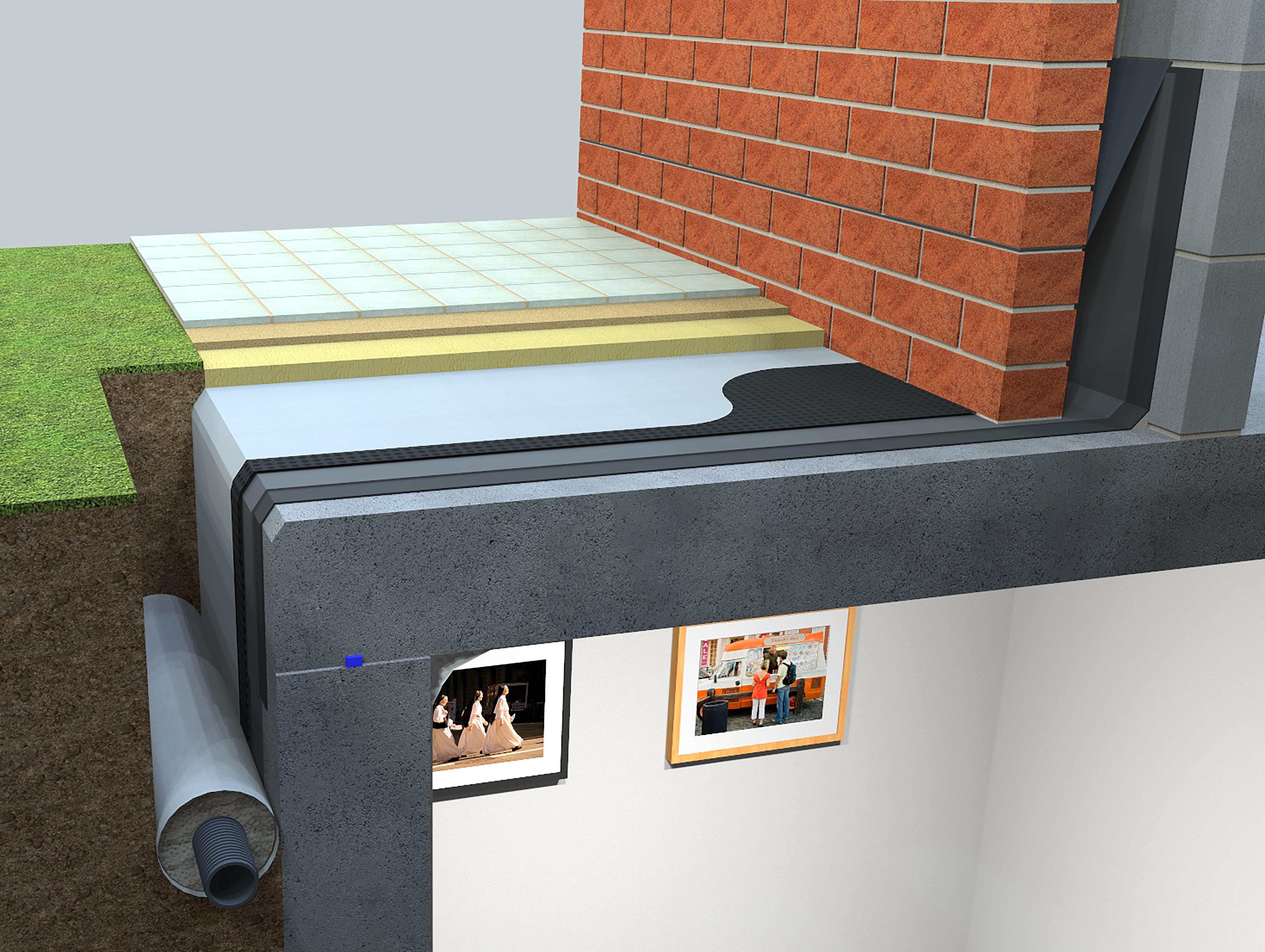 Newtons complete range of deck waterproofing solutions