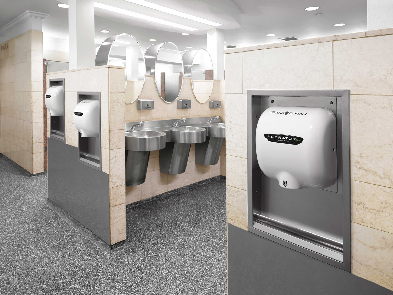 XLERATOReco®: the elite hand dryer for washroom solutions