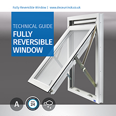 Fully Reversible Window Technical data