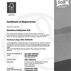 Junckers FSC Certification