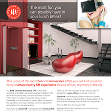 Virtual Reality Platform Lift CPD Leaflet