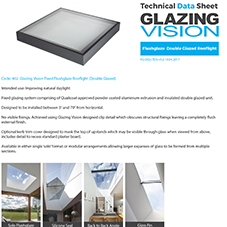 Flushglaze Double Glazed Rooflight