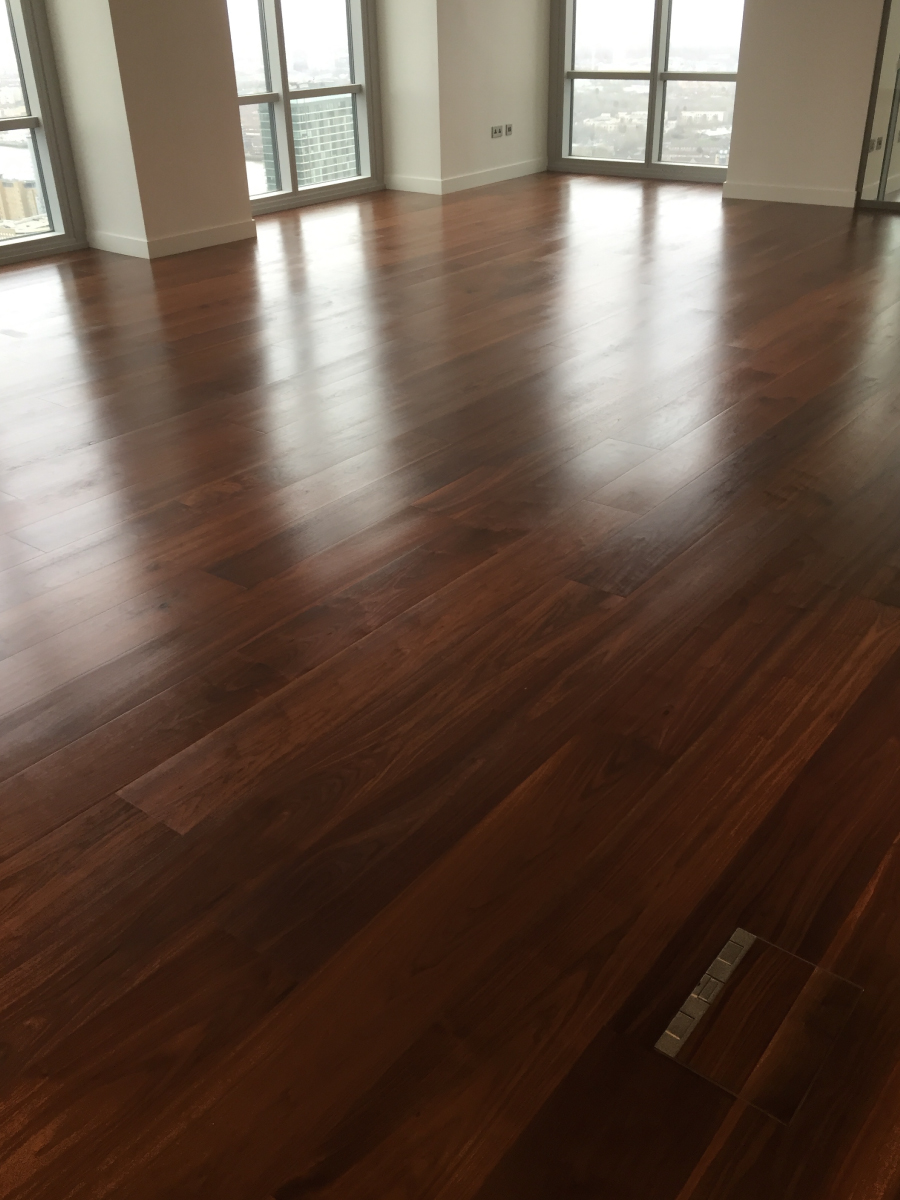 Solid Wood Flooring For Newfoundland Tower