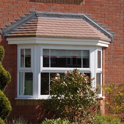 Grp bay window roof canopies stormking plastics for Window roof design