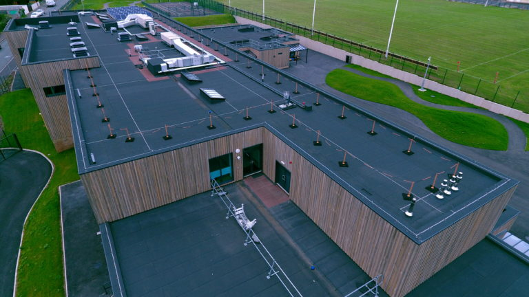 Alumasc warm roof system for £12M new build primary school