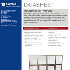 Glazed Security Doors