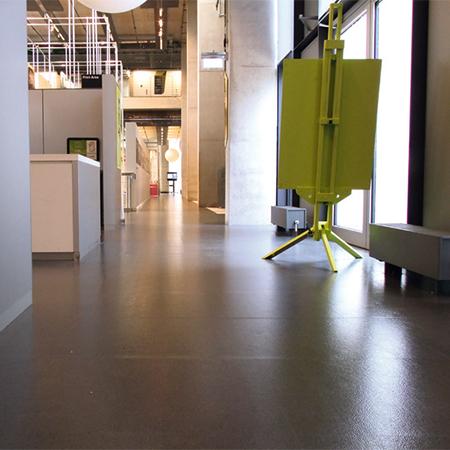 Flexible Floor Tiles For Greenwich University